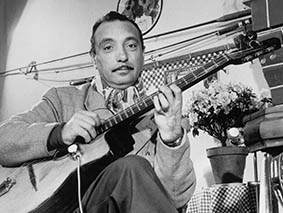 UNSPECIFIED - CIRCA 1970:  Photo of Django Reinhardt  Photo by Michael Ochs Archives/Getty Images